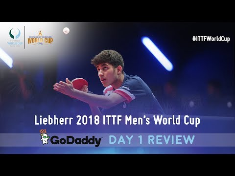Day 1 Daily Review presented by GoDaddy | 2018 ITTF Men's World Cup