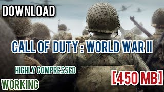 How To Download Cod 2 Highly Compressed