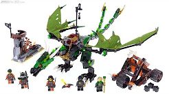 LEGO Ninjago Green NRG Dragon review! 70593