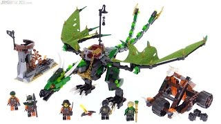 Baixar LEGO Ninjago Green NRG Dragon review! 70593