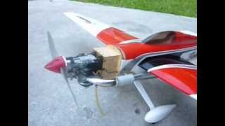 This plane is a sundowner 36 it have a Evolution 10cc gas engine wi...
