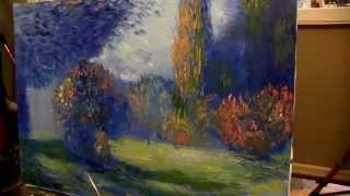 мастер-классы, уроки, живопись маслом Игоря Сахарова