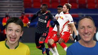 RB LEIPZIG 0-2 LIVERPOOL REACTION HIGHLIGHTS - Champions League