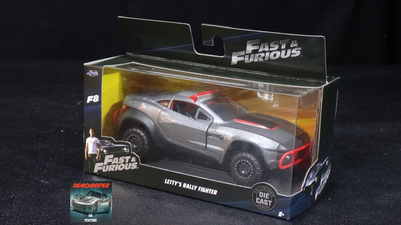 Fast And Furious 8 Letty S Rally Fighter Jada Toys 1