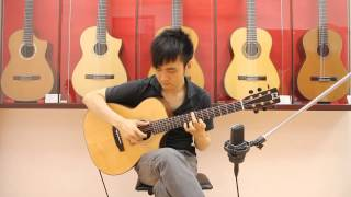 "海闊天空 Beyond ""Guitar FingerStyle"" - Steven Law"