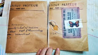 How to Make an Envelope Notebook from a Precious Envelope! Part 3! Junk Journal Fun! Paper Outpost!