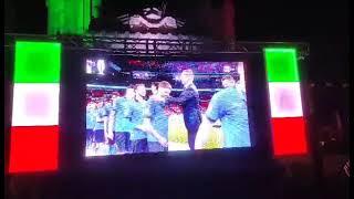 Euro 2020, la premiazione di Castrovilli