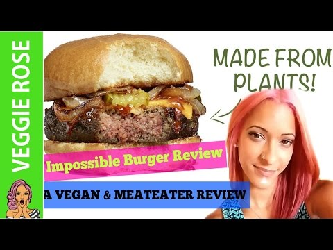 Impossible Burger | Review by Vegan & Meateater
