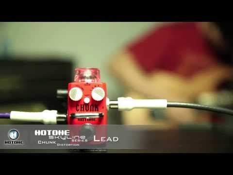 Hotone Chunk Distortion Pedal demonstration by Guitarcube