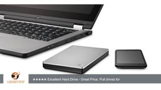 Seagate Backup Plus Slim 1TB Portable External Hard Drive with 200GB of Cloud Storage & Mobile