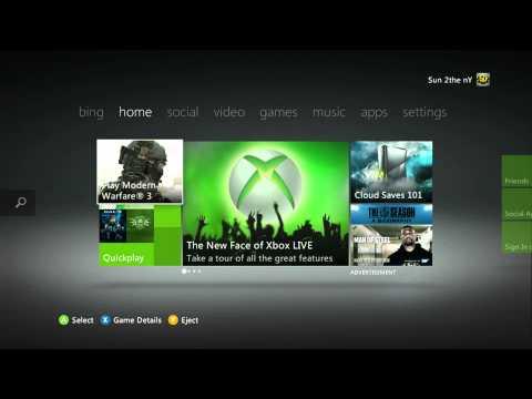 Xbox 360 Fall 2011 Update (HD 1080p)