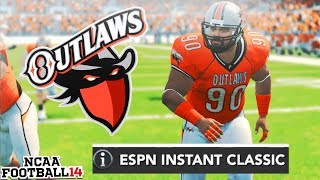 Debuting Alternate Jerseys in ESPN Classic! NCAA 14 Team Builder Dynasty Ep. 8