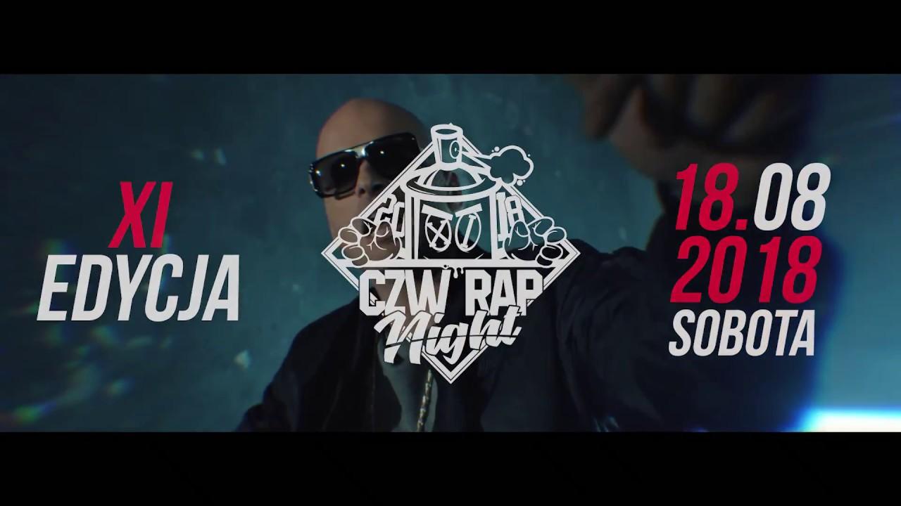 CZW RAP NIGHT 2018 - 18.08.2018 r., Człuchów [Zapowiedź 11 edycji festiwalu by Kacpersky]