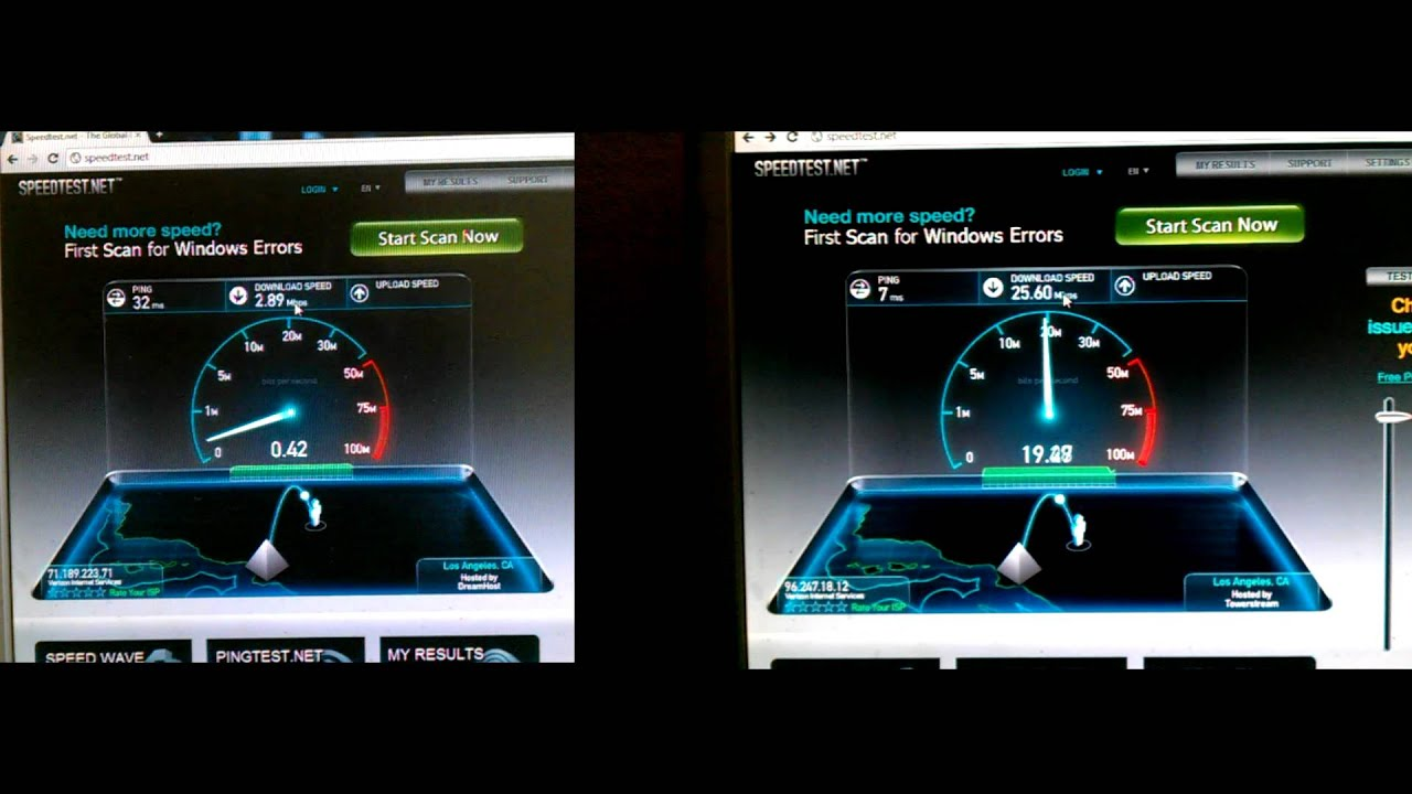 What is the diffrence between FIOS and DSL?
