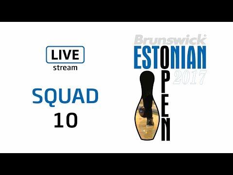 Brunswick Estonian Open 2017 - Squad 10 - Live Stream