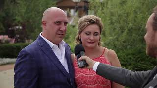 """Фишка для свадьбы """"Видеоинтервью"""" 2017"""