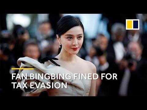 Chinese film star Fan Bingbing released and told to pay US$130 million for tax evasion