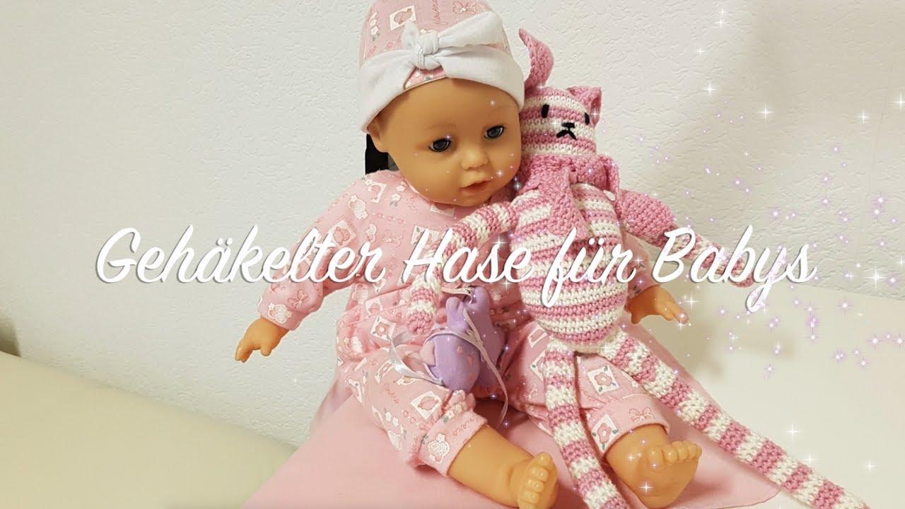 Anleitung Gehäkelter Hase Für Babys Hase Häkeln Aleitung Deutsch
