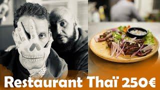 Restaurant Thaï à 5€ VS 250€ avec Seth Gueko