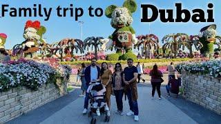 Family trip to Dubai with Dia