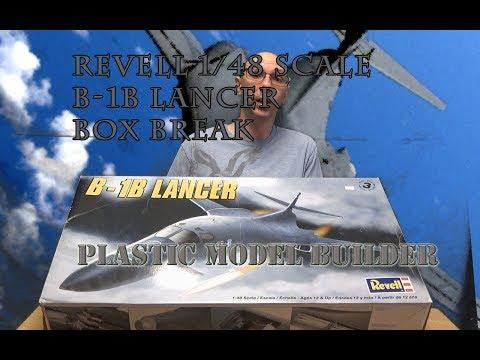 Revell B-1B Lancer 1/48 Scale Box Break