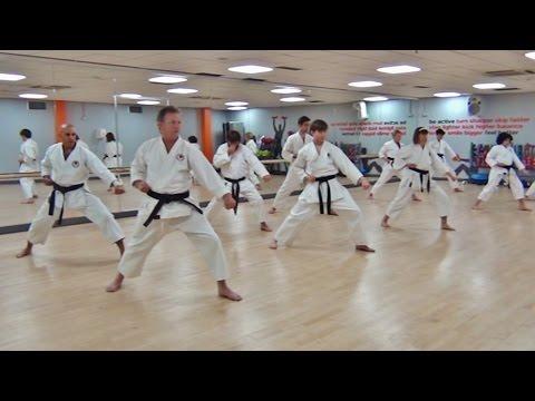 Insight Part 2:  Training at the Harrow School of Shotokan Karate.(HD)