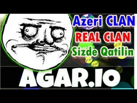 Agar.io Azeri klan REAL CLAN