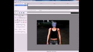 Blurred faces in video -  program SensArea - 1.part