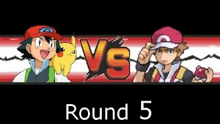 Pokemon: Ash VS Red (Unova-Team)