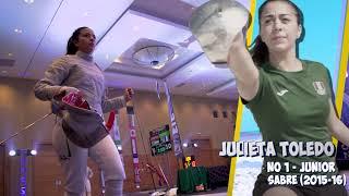 Mexico - Women's sabre team