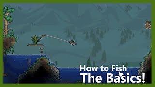 Terraria - How t๐ Fish: The Basics!