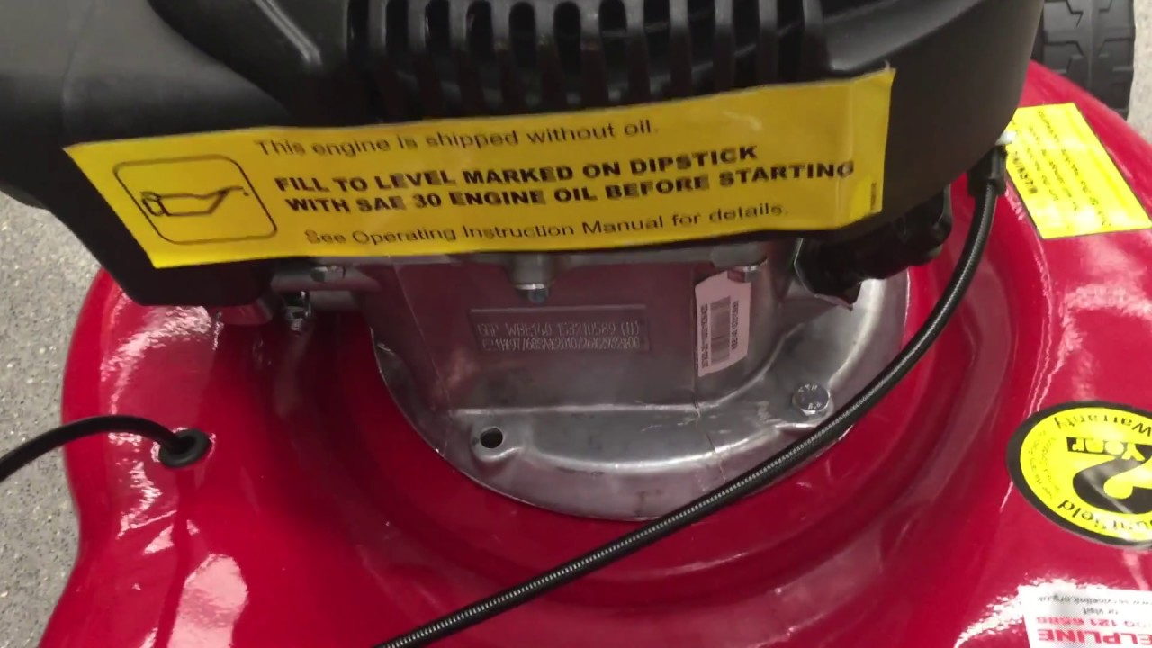 How To Locate Your Mountfield Model Details