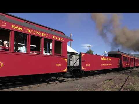 Cumbres & Toltec Scenic Railroad in 4K