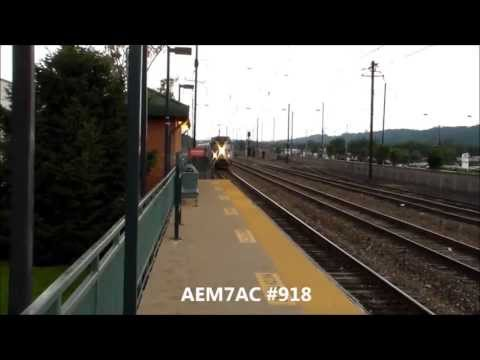 The Pennsylvanian,train 42 and Amtrak Heritage unit #145 Part 6