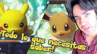 POKÉMON SWITCH REVELADO! Let's Go Pikachu / Let's Go Eevee! Lo Bueno y Lo Malo! Impresiones