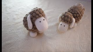 Gambar cover خروف كروشية - (how to crochet a sheep (eng sub