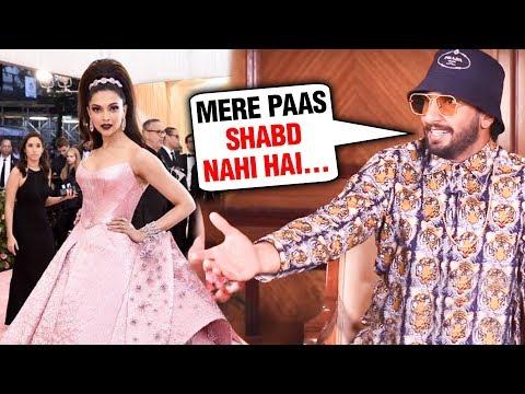 Ranveer Singh EPIC REACTION On Deepika Padukone Met Gala 2019 Look Mp3