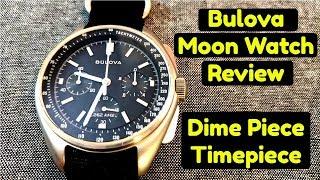 Bulova Moon Watch Review - Dime Piece Timepiece Special - Space Chronograph Under $300 - Lunar Pilot