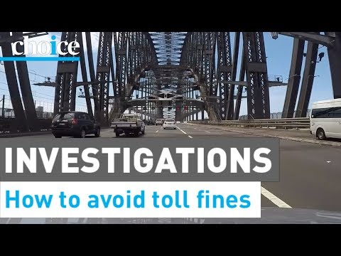 How To Avoid Road Toll Fines –CHOICE
