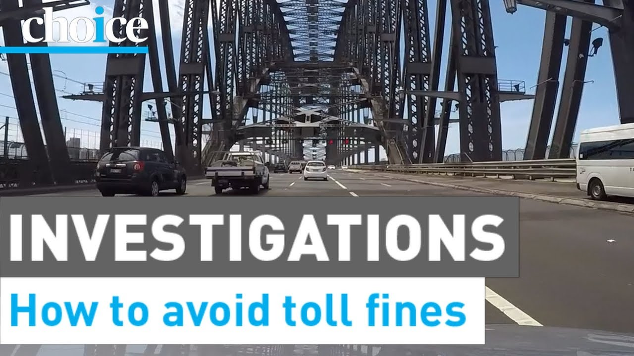 Toll road costs, fines and fees in Australia - CHOICE