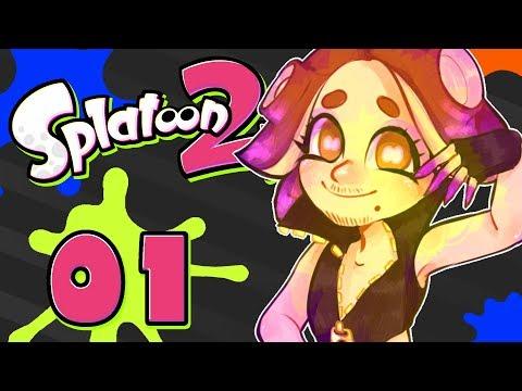 Splatoon 2 Gameplay | Motion Controls