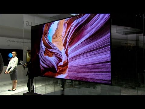 Thumbnail: Thin is in for TVs at CES 2017