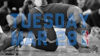 Repeat youtube video NBA Daily Show: Mar. 28 - The Starters