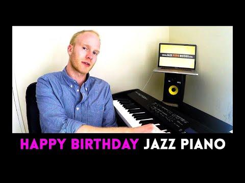 'HAPPY BIRTHDAY' - FUN JAZZ PIANO VARIATION