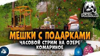 Русская Рыбалка 4 Подарочные мешки на Комарином озере