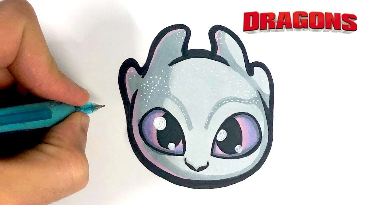 Tuto Emoji Comment Dessiner Furie Eclair Dragon 3