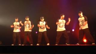 RYUZY & ATZO & TAC & MADOKA & TAKUMI / UNITED WE BOOGIE 2015 DANCE SHOWCASE