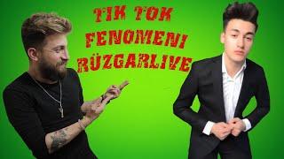 TİK TOK FENOMENİ RÜZGARLİVE SAÇ MODELİ (Videoları Nasıl Çekiyor..?)