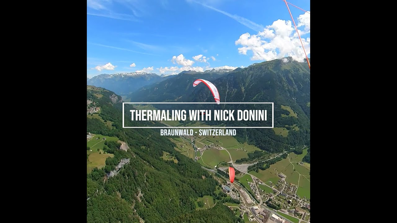 NOVA at the Red Bull X-Alps 2021: Thermalling with Nick Donini over Braunwald