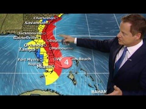 Conditions worsen as Hurricane Matthew churns toward US